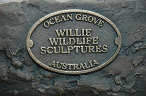 Willie Wildlife Sculptures Makers Mark