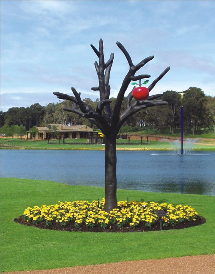 Public Art: Garden of Eden Tree at Laurance Cellar, Margaret River, Australia