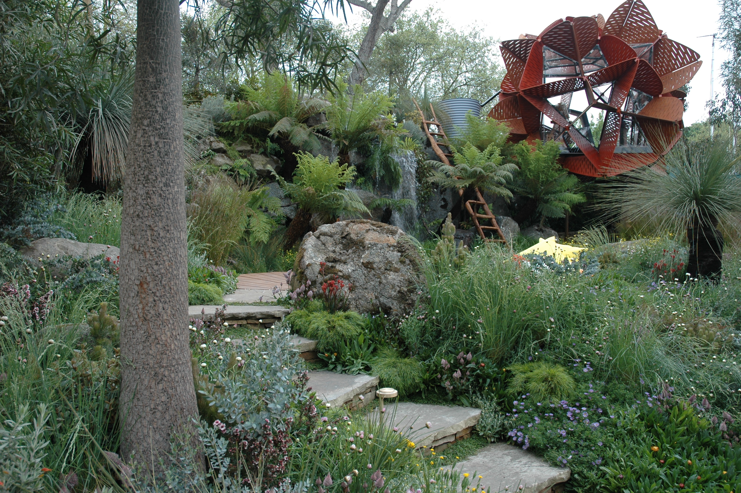 Photos Of The Flemings Australian Show Garden At Chelsea