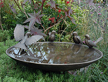 800mm 32inch Blackbird Birdbath_th